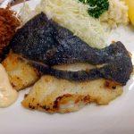 Tsukiji Market : Fried flatfish with butter at Odayasu (小田保)