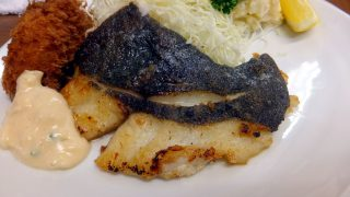 (Moved) Tsukiji Market : Fried flatfish with butter at Odayasu (小田保)