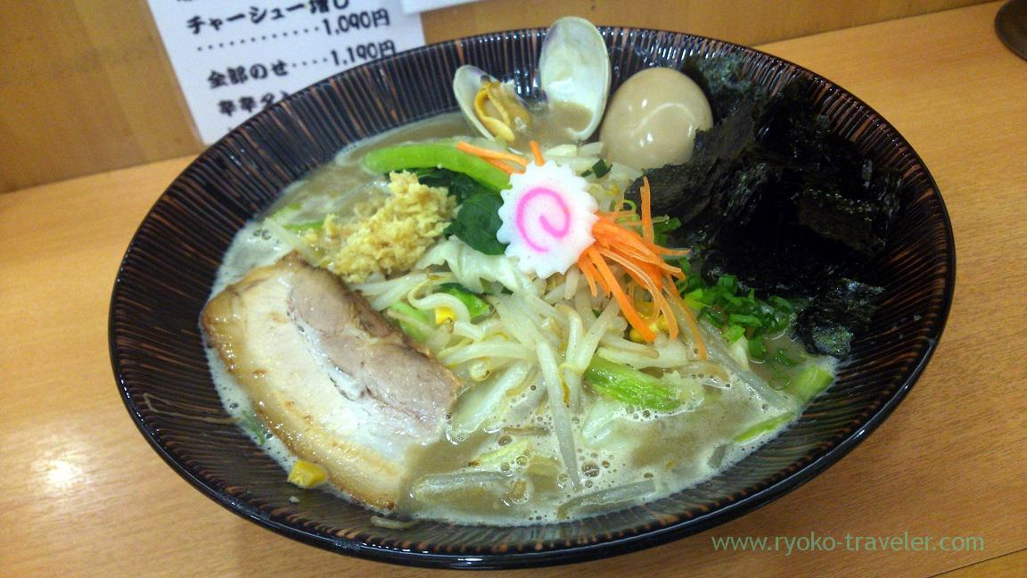 Funabashi-style tanmen, Menya Shono Tobu hyakkaten Funabashi branch (Funabashi)
