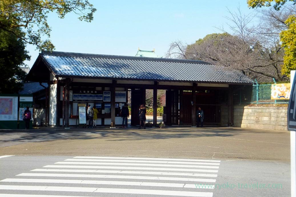 Gate, Nagoya castle, Nagoya (Hokuriku&Tokai 2016)