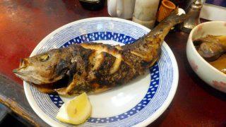 (Moved) Tsukiji Market : Grilled grunt with salt at Yonehana (築地 米花)