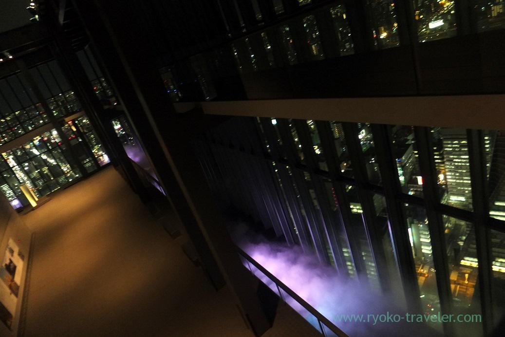 Like corridor, Midland square sky promnade, Nagoya (Hokuriku&Tokai 2016)