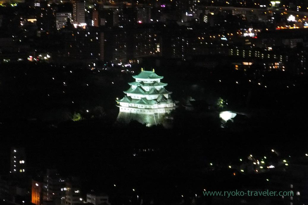 Nagoya castle2, Midland square sky promnade, Nagoya (Hokuriku&Tokai 2016)