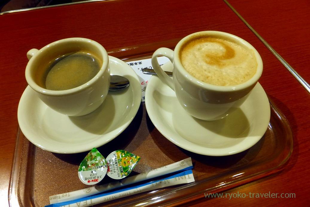 Our coffee, Yonemoto coffee Shinten (Tsukiji)