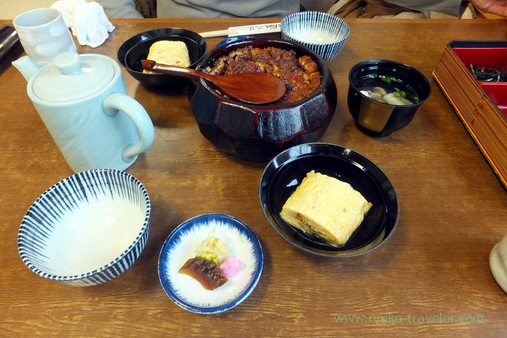 Our lunch, Atsuta Horaiken Jingu branch, Jingumae (Hokuriku&Tokai 2016)