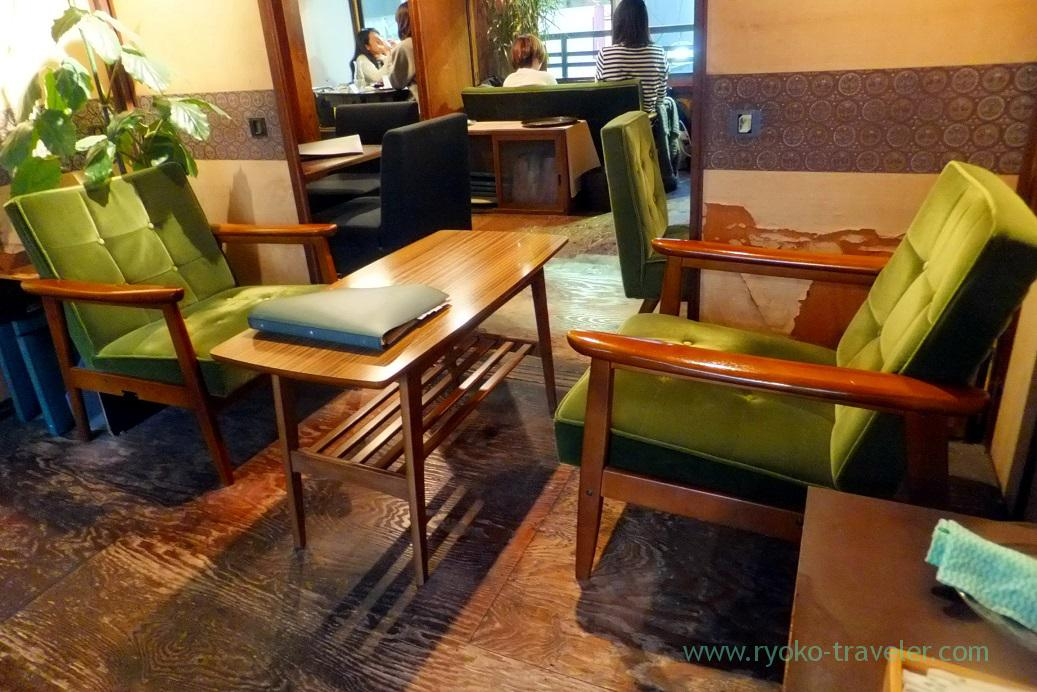 Seats, Coffee Burico, Kamimaezu (Hokuriku&Tokai 2016)