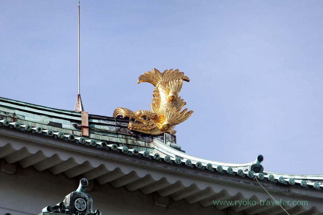 Shachihoko, Nagoya castle, Nagoya (Hokuriku&Tokai 2016)
