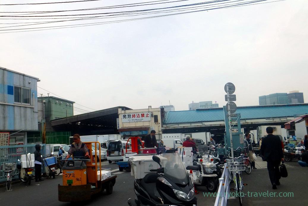 Tsukiji Market as (Tsukiji Market)