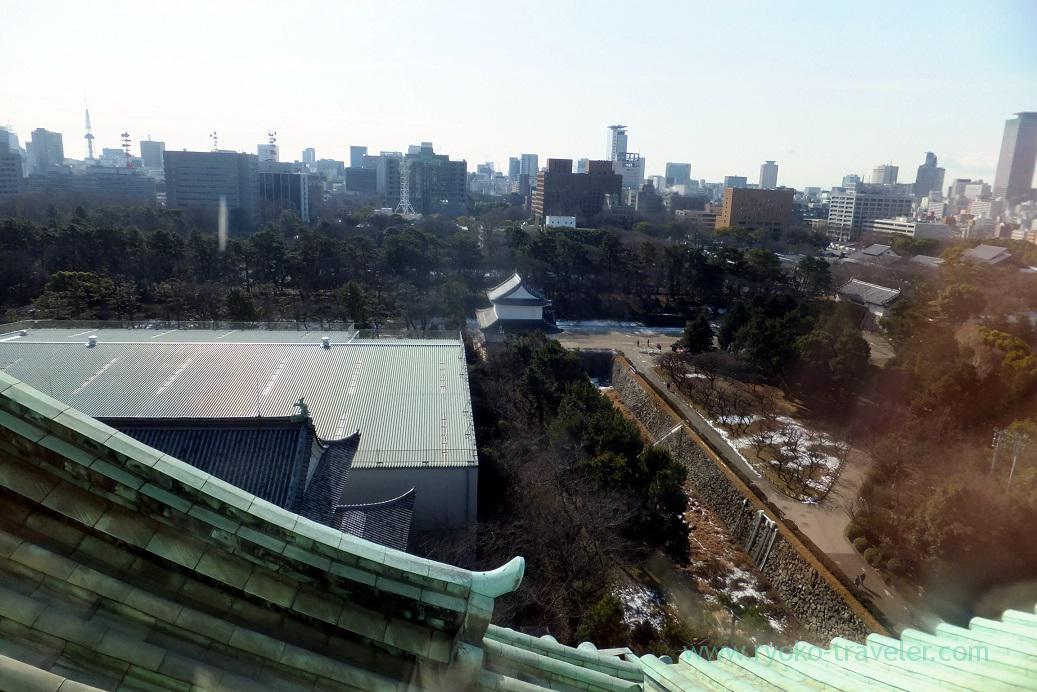 View from observatory room, Nagoya castle, Nagoya (Hokuriku&Tokai 2016)