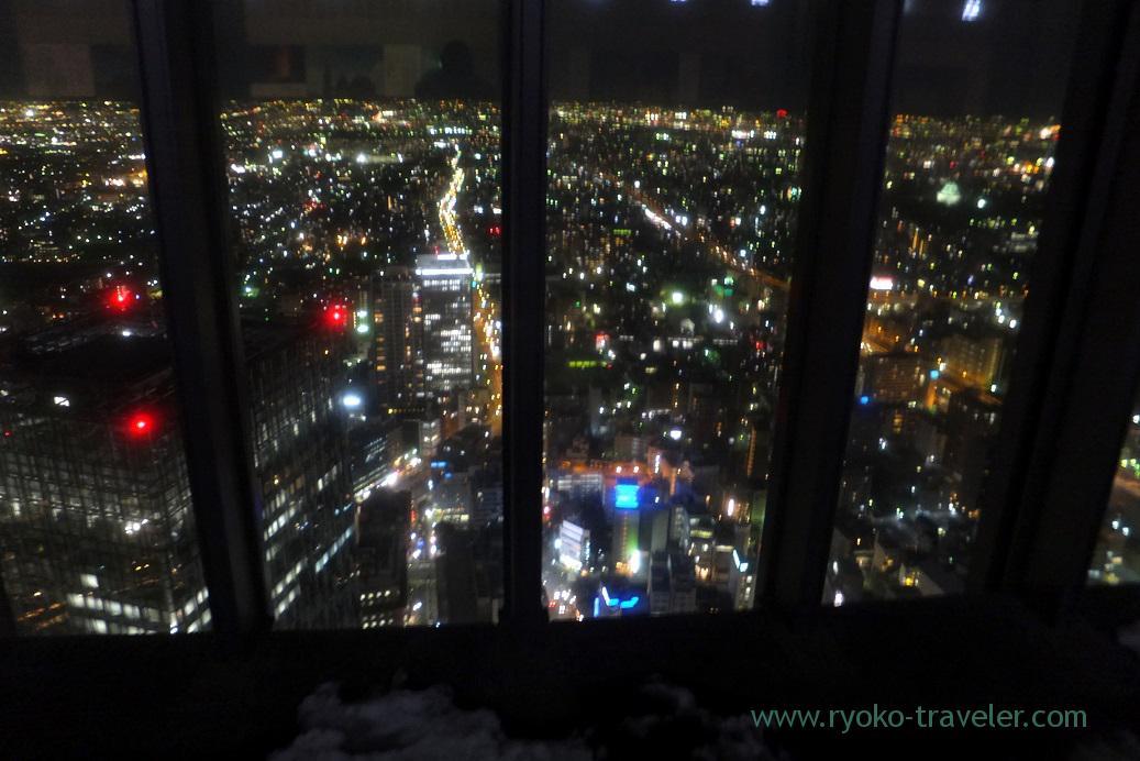 View of Nagoya, Midland square sky promnade, Nagoya (Hokuriku&Tokai 2016)