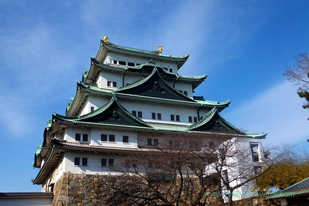 Whole view, Nagoya castle, Nagoya (Hokuriku&Tokai 2016)