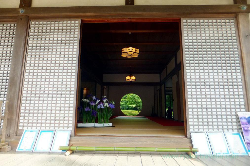 Circle, Meigetsuin temple, Kita Kamakura (Kamakura Hydrangea 2016)
