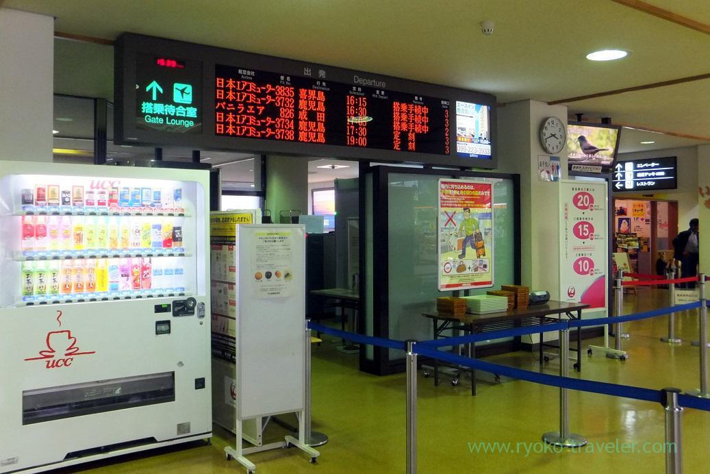 Gate, Amami airport (Amami 2015)