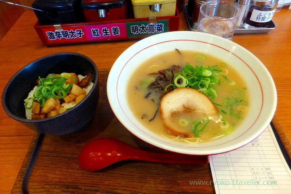 Roast pork set, Fukuchan (Tsukiji)