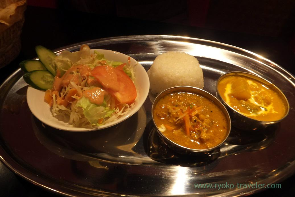 Sansar dinner set2, Sansar Motoyawata branch (Motoyawata)