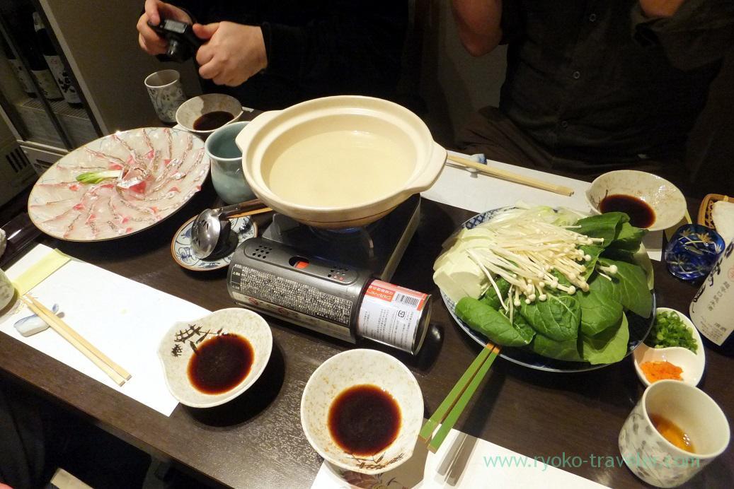 Shabu-shabu ready, Tokichi (Kinshicho)