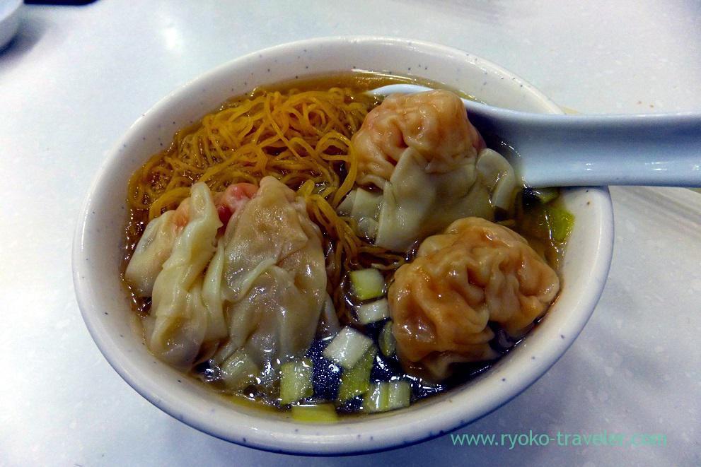 Wonton noodles, Mak Man Kee Noodle Shop ,Jordan (Hongkong 201602)