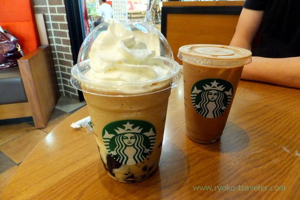 Coffee jelly & creamy vanilla frappecino 1, Starbucks coffee Tsudanuma MINA branch (Tsudanuma)