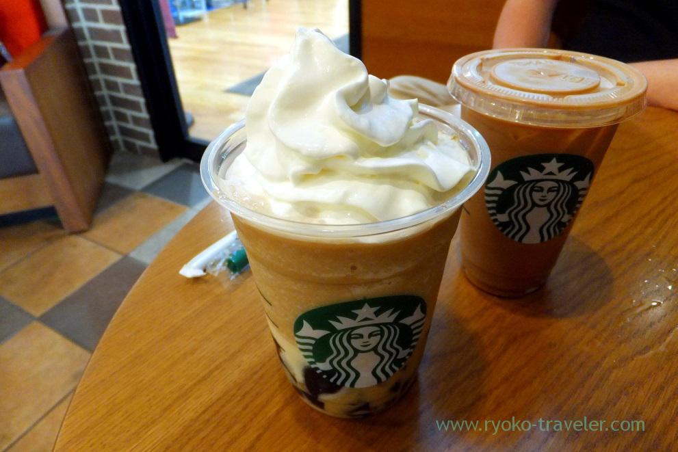 Coffee jelly & creamy vanilla frappecino 2, Starbucks coffee Tsudanuma MINA branch (Tsudanuma)