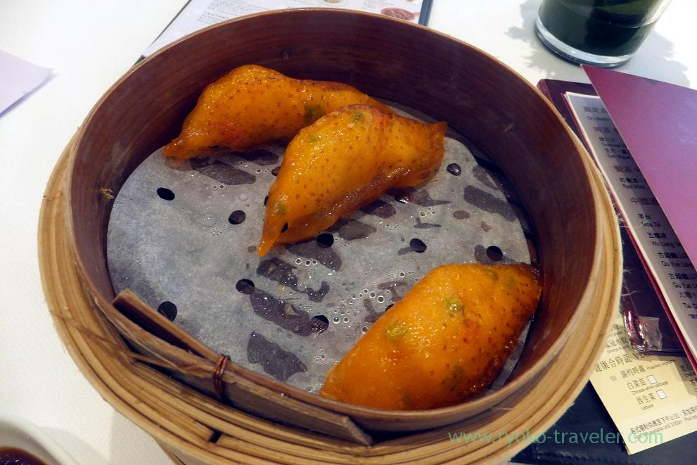 Garoupa Steamed dumpling stuffed with shrimp paste, Serenade , Tsim Sha Tsui (Hongkong 201602)