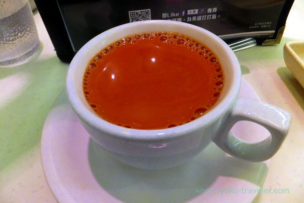 Milk tea, Tai Hing New Mandarin Plaza branch , Tsim Sha Tsui (Hongkong 201602)