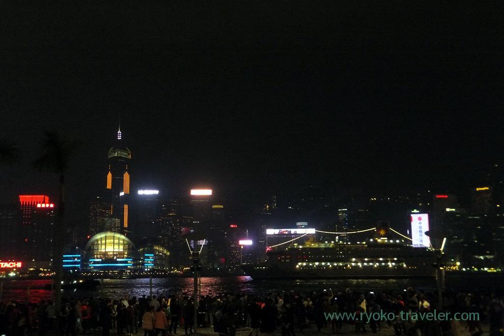 Symphony of lights 1, Tsim Sha Tsui promnade ,East Tsim sha tsui (Hongkong 201602)