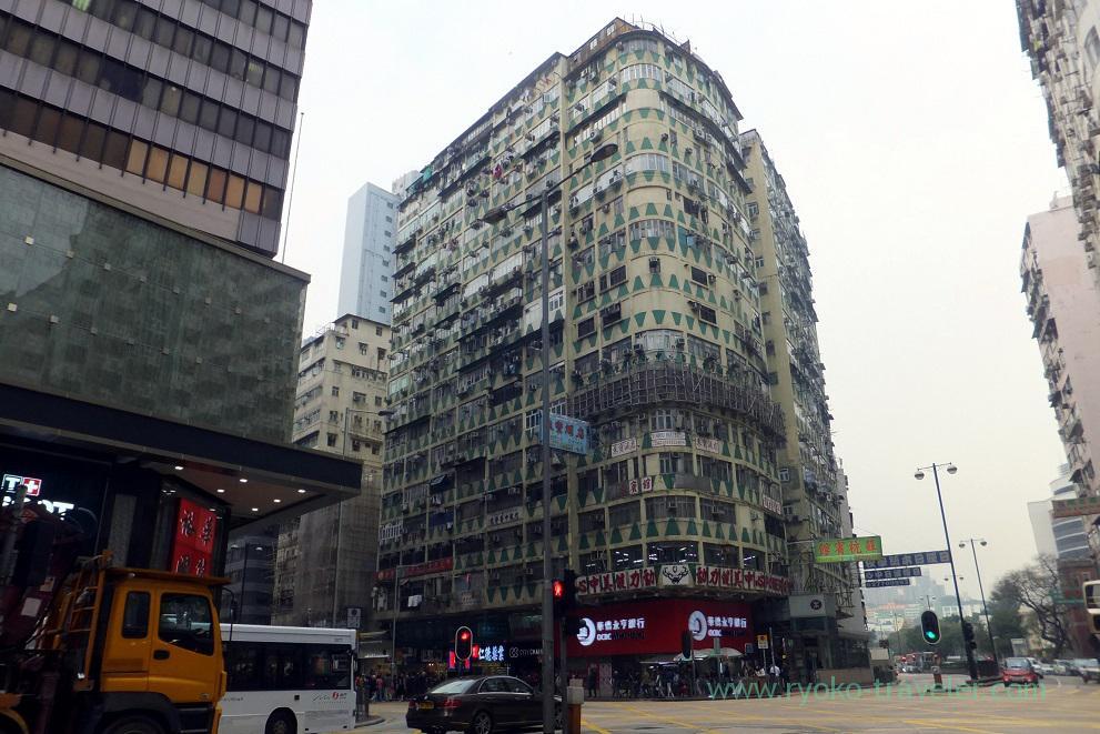 Town view 1 ,Mong kok (Hongkong 201602)