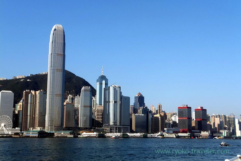 View, Tsim Sha Tsui promnade , Tsim Sha Tsui (Hongkong 201602)