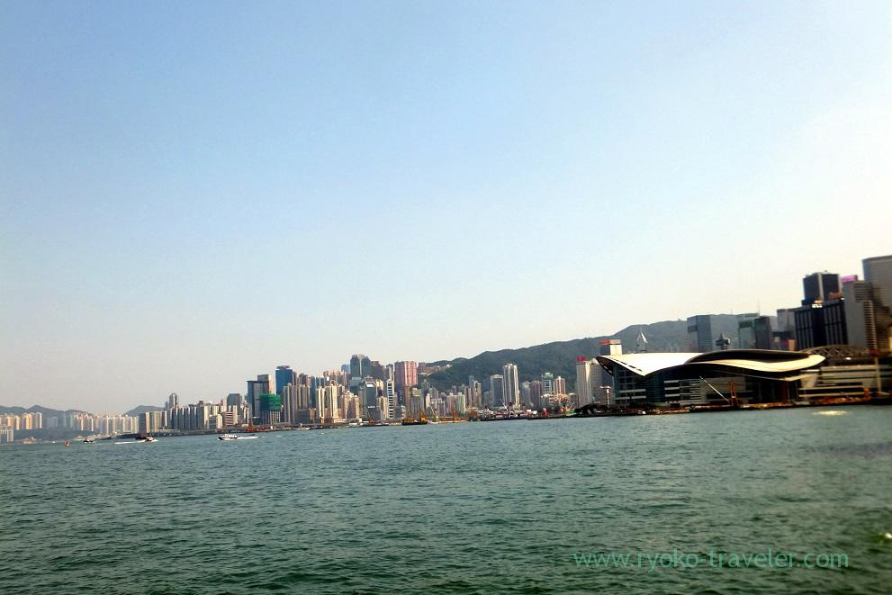 View from Star Ferry 1, Star ferry Central pier, Central (Hongkong 201602)