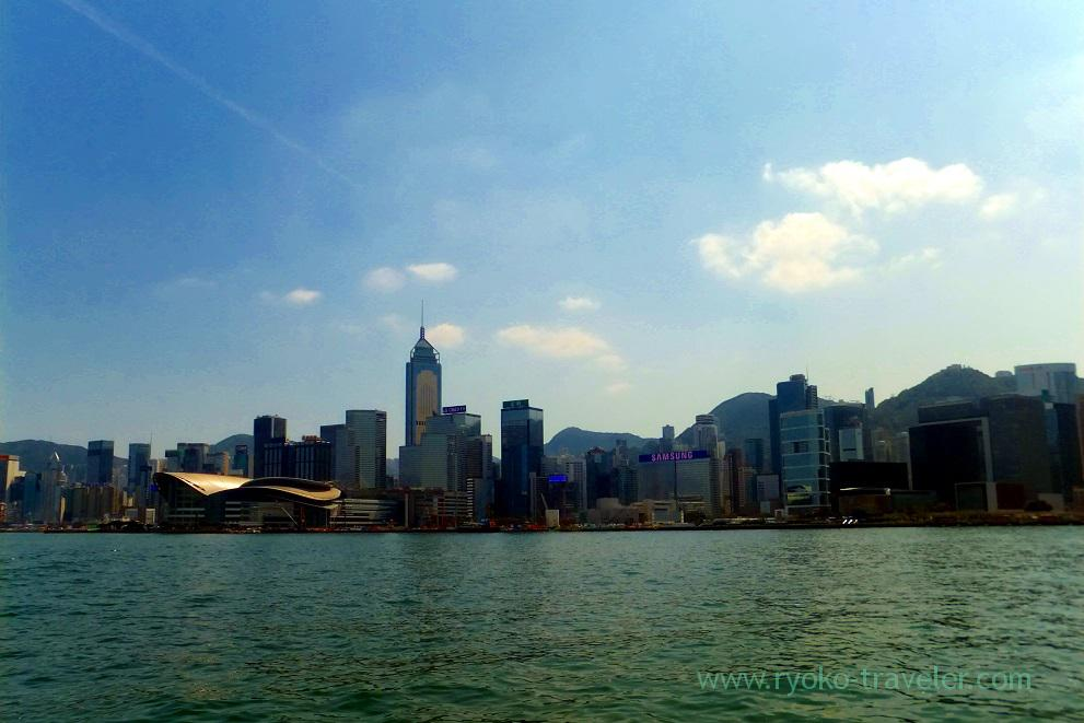 View from Star Ferry 2, Star ferry Central pier, Central (Hongkong 201602)