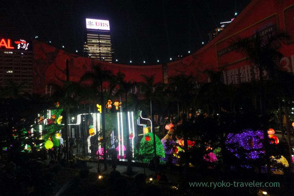monkeys of Hong Kong Pulse 3D light show 1, Tsim Sha Tsui promnade ,East Tsim sha tsui (Hongkong 201602)