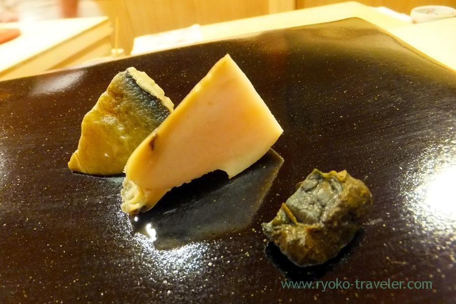 Abalone, Nihonbashi Kakigaracho Sugita (Suitengu-mae)