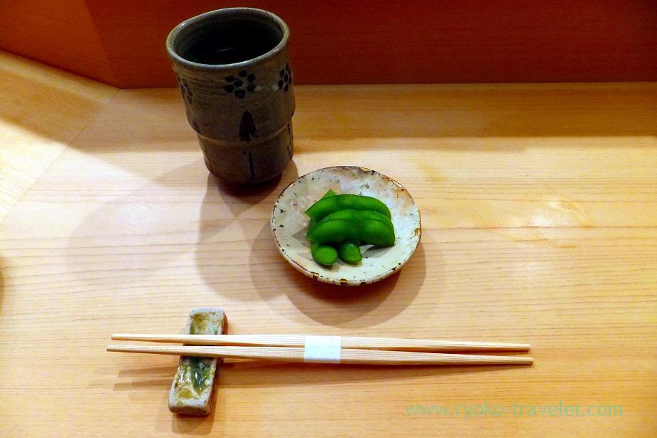 Edamame, Nihonbashi Kakigaracho Sugita (Suitengu-mae)