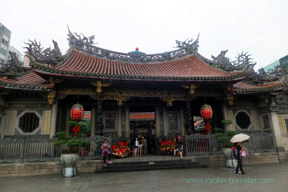 Hall, Longshan temple, Longshan temple (Taipei 201605)