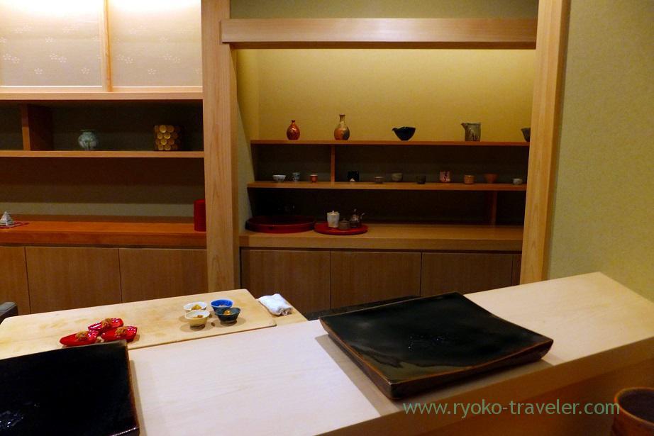 Interior, Nihonbashi Kakigaracho Sugita (Suitengu-mae)