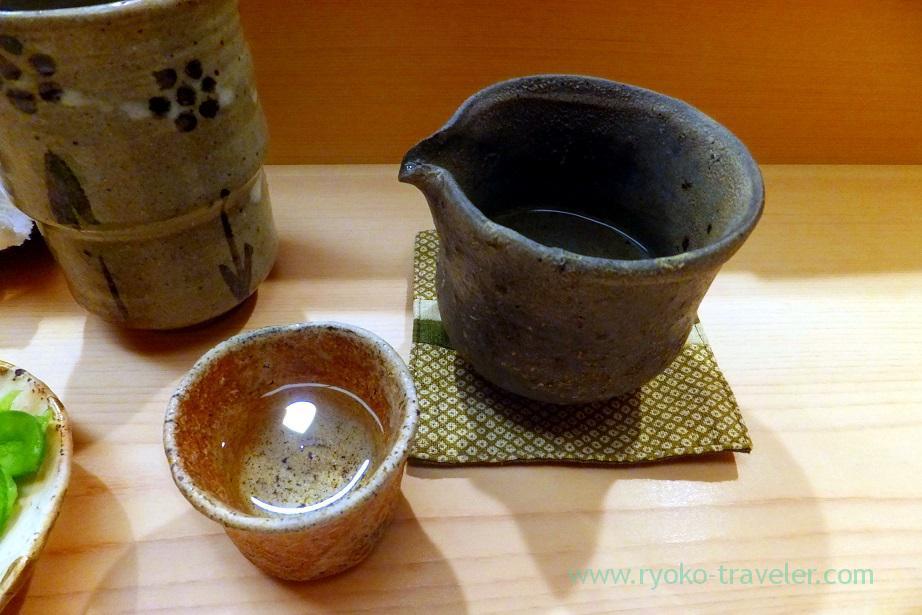Japanese sake, Nihonbashi Kakigaracho Sugita (Suitengu-mae)