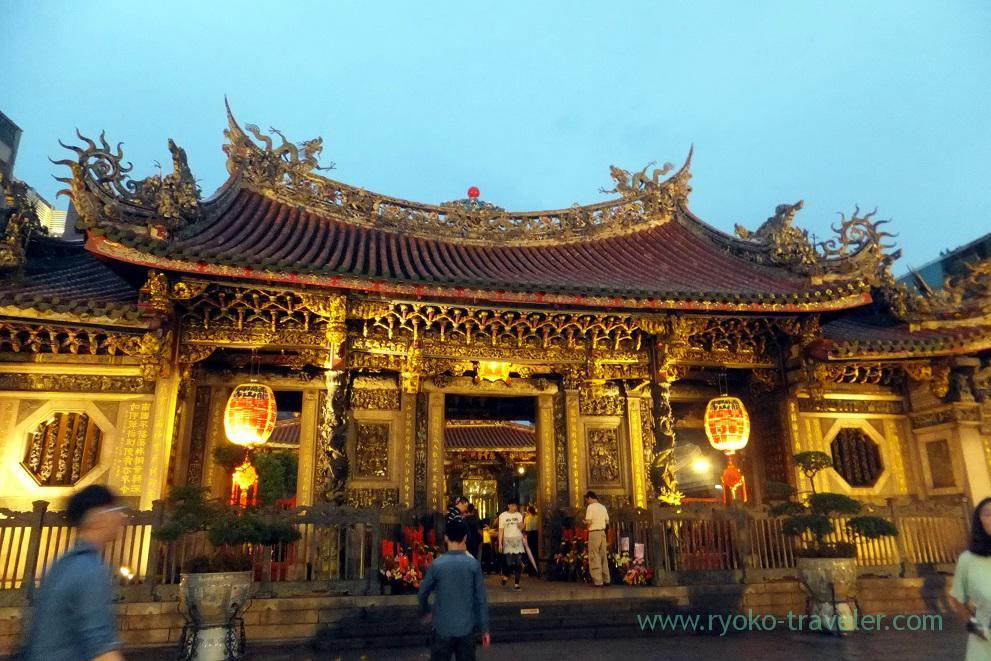 Lightup, Longshan temple, Longshan temple (Taipei 201605)