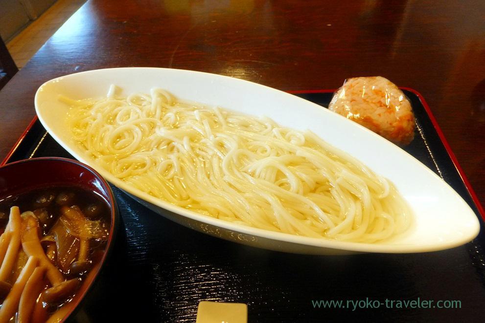 Meat ball udon, Hasegawa (Kachidoki)
