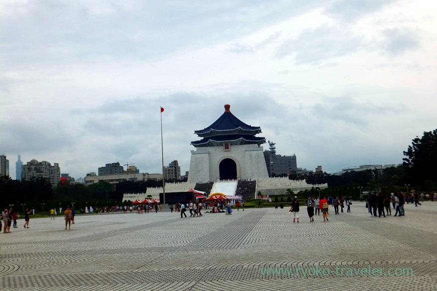Memorial hall, National CKS Memorial Hall (Taipei 201605)