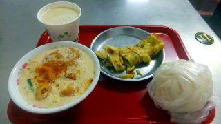 Taipei 2016 Spring : Breakfast at Four seas soymilk king (四海豆漿大王)