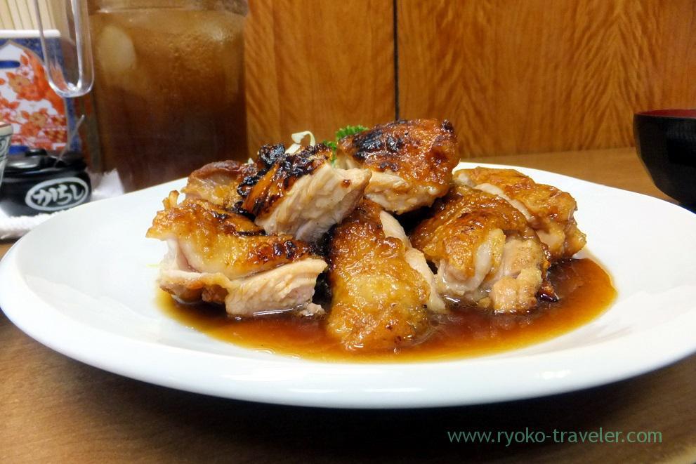 Sauted chicken from the horizon, Odayasu (Tsukiji Market)