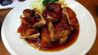 (Moved) Tsukiji Market : Sauteed chicken at Odayasu (小田保)