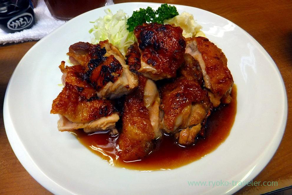 Sauted chicken from the top, Odayasu (Tsukiji Market)