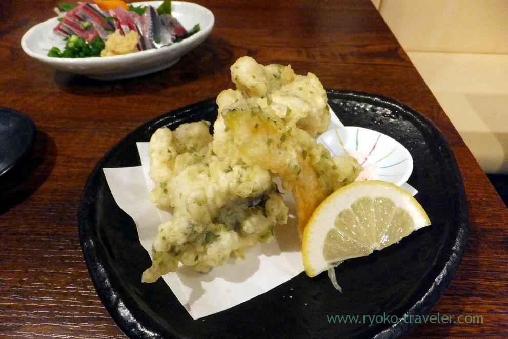 Sea eel tempura, Funakko (Higashi-Funabashi)