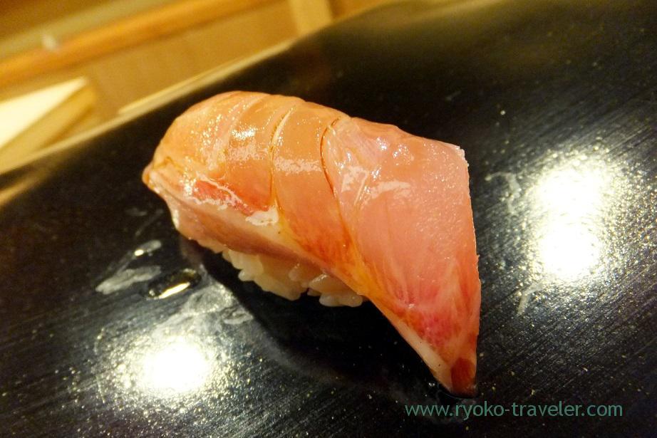 Smaller size of Spanish mackerel Sagoshi, Nihonbashi Kakigaracho Sugita (Suitengu-mae)