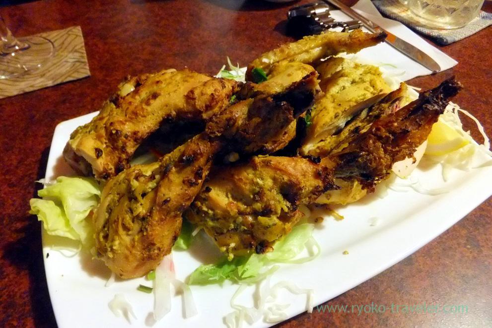Special tandoori chicken, Aarti (Akihabara)