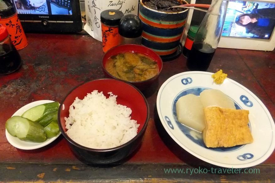 Chef's choice except saury, Yonehana (Tsukiji Market)
