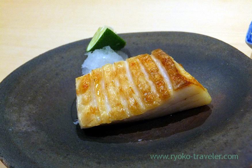 grilled-butterfish-sushi-hashimoto-shintomicho