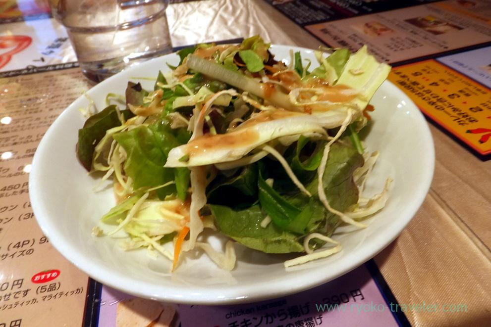 Salad, Sristi Kachidoki branch (Kachidoki)