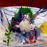 Tsukiji Market : Two way of eating saury at Odayasu (小田保)